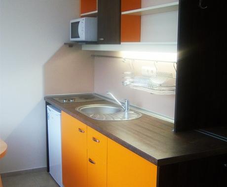 Мини студио кухня