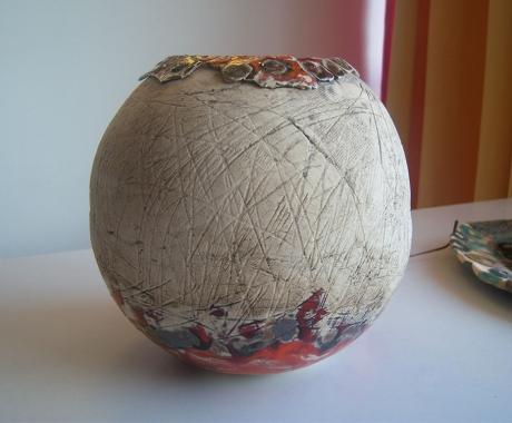 Кръгла ваза