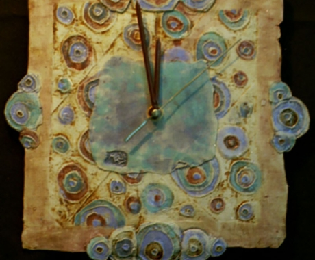 Часовник с кръгове